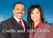 Creflo and Taffi Dollar