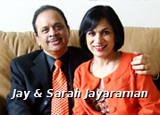 Jay and Sarah Jayaraman